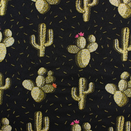 Tissage jacquard N°...Cactus