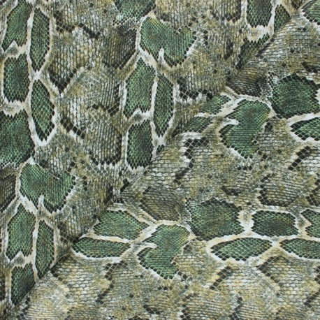 Simili cuir Mérope vert n°210