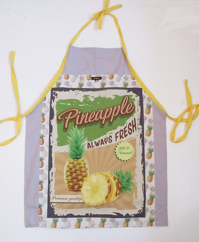 "TABLIER ""Ananas"""