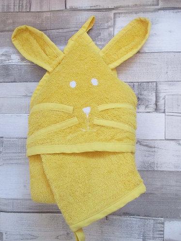 Bubulle jaune Cape de bain bébé et jusqu'à 3ans ou +