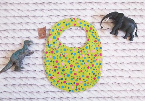 Mini Bavette Confetti Jaune