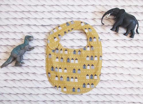Mini Bavette Maison/ Gaufré ocre