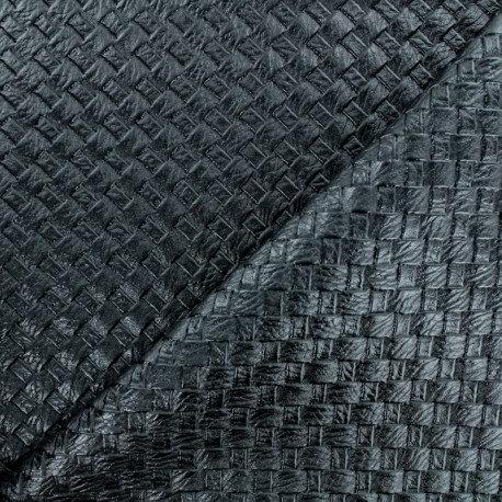 Simili cuir noir n°