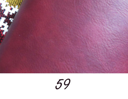 Simili cuir Bordeaux N°59