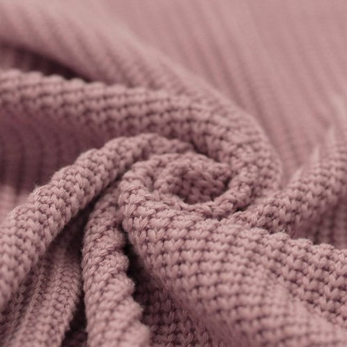 MAILLE TRICOT N°30 COTON VIEUX ROSE