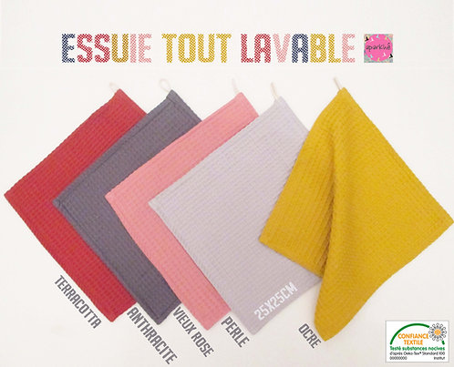 Gamme Essuie Tout Lavable