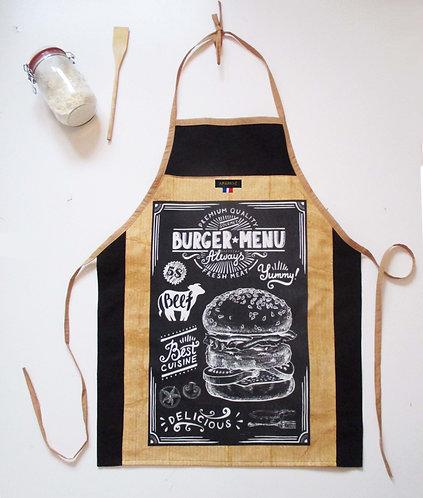 """TABLIER """"Burger"""""""