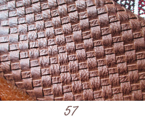 Simili cuir Marron N°57