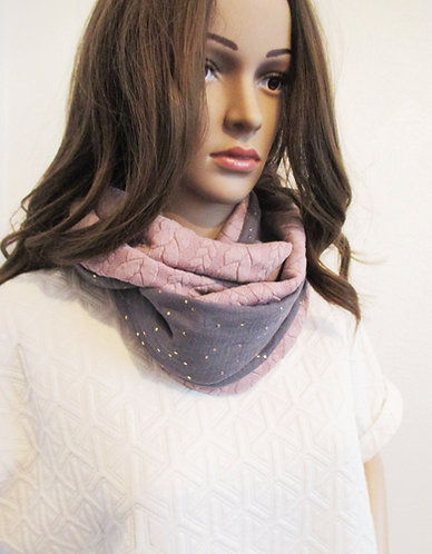 Grand Snood  n° 11- Gris clair-2021