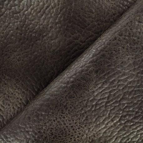 Tissu n°150 Simili frappé marron
