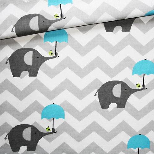 Elephants Bleu - Öko-Tex Standard 100