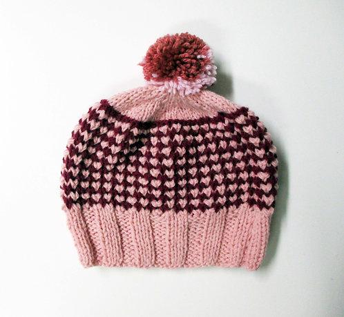 Bonnet Tricoté main