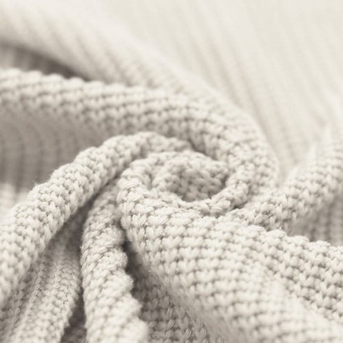 MAILLE TRICOT N°33 COTON BLANC