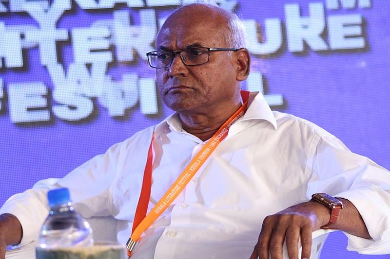 Kancha Ilaiah at Kerala Literature Festival, Kozhikode in 2018. Image Courtesy: Wikimedia Commons. Photographer: Sreejith Koiloth.
