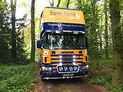 express movers removal lorry