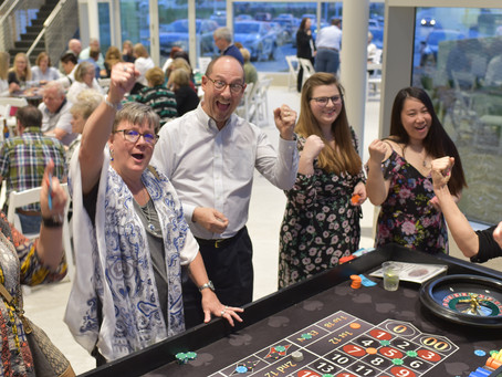 Try Your Luck at Casino Night