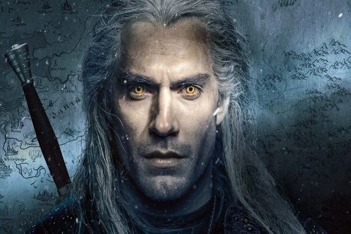 The Witcher serie Geralt