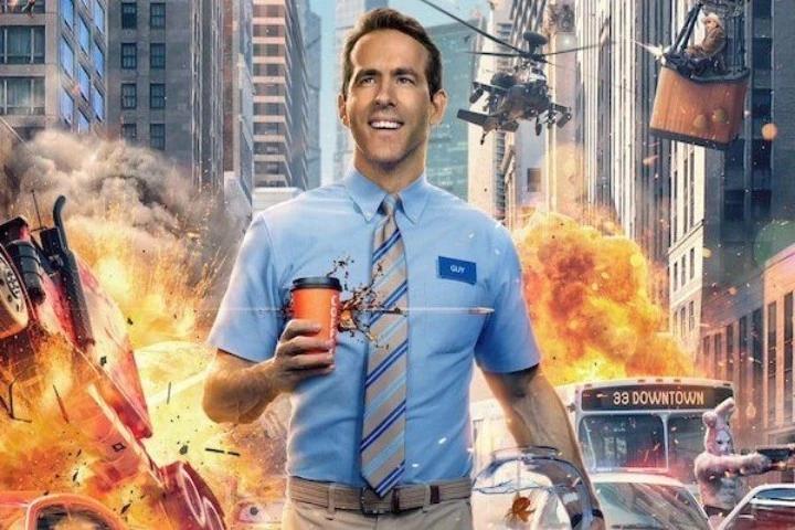 Free Guy Ryan Reynolds filme poster
