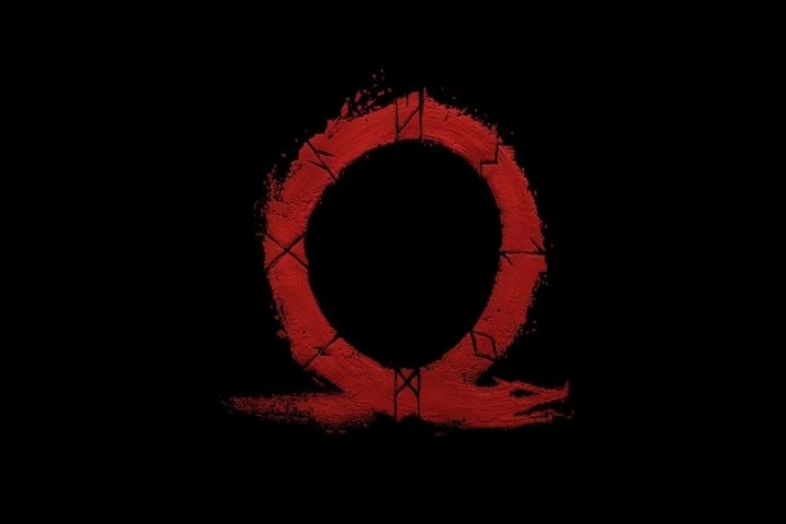 God Of War game da playstation logo