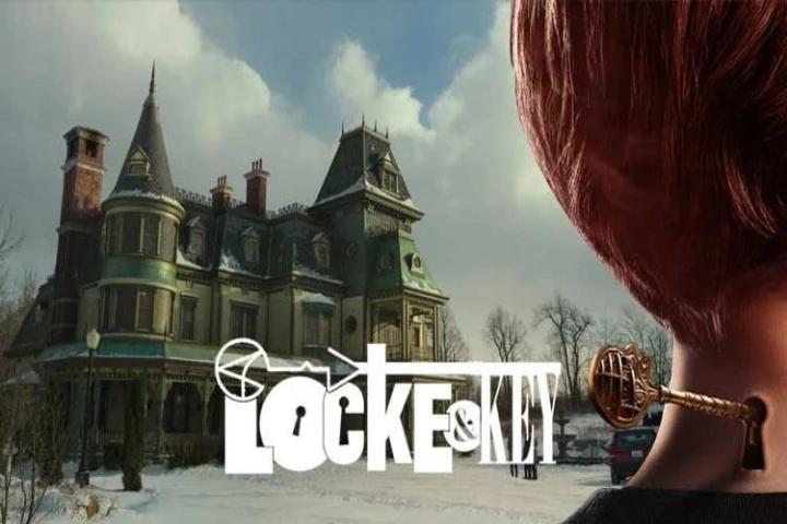 Locke Key poster oficial casa