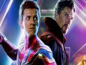 Homem-Aranha 3 - Foto mostra Doutor Estranho e Peter Parker