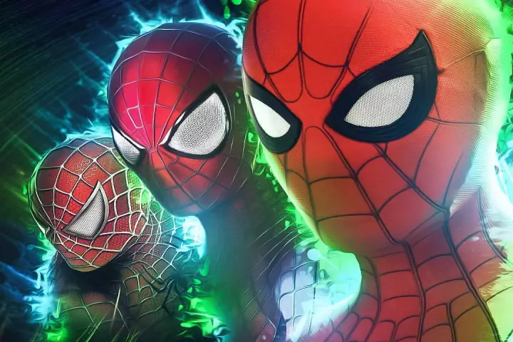 Spiderman filme tres aranhas