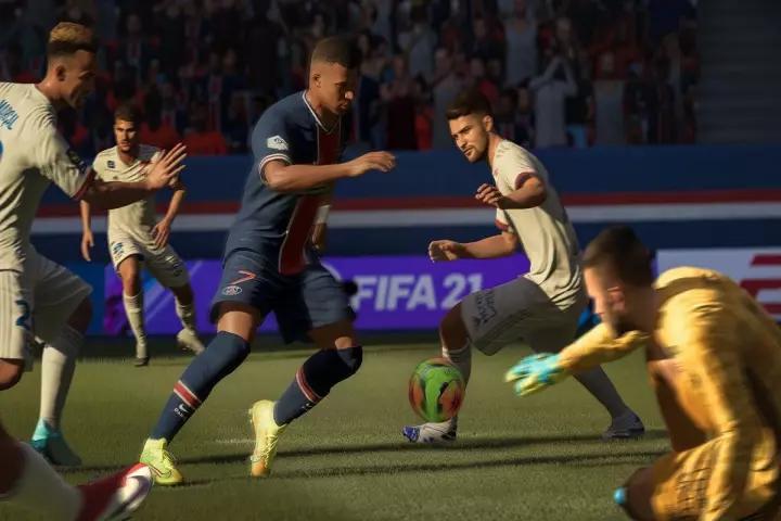 FIFA 22 GAME DE FUTEBOL MBAPPE