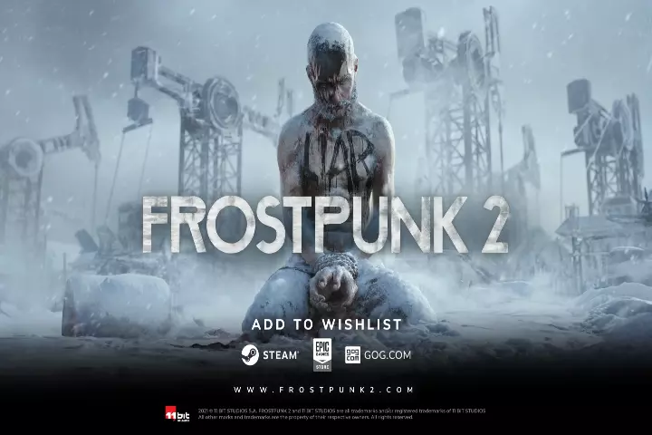 Frostpunk 2 Game poster