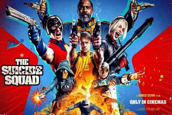 Esquadrão Suicida Poster oficial personagens