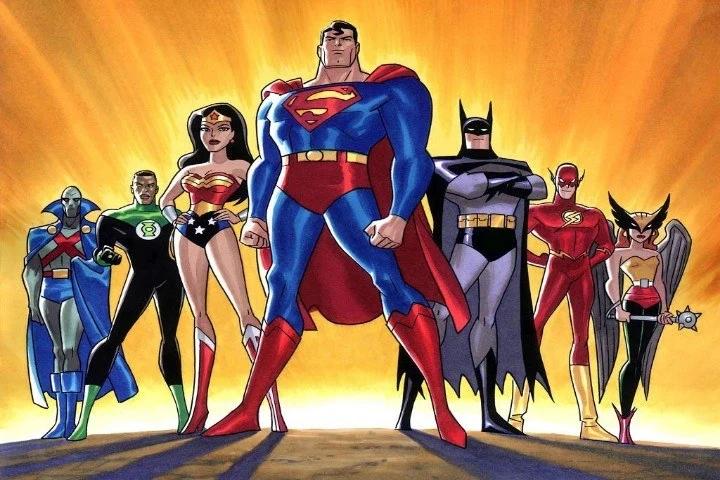 Liga da Justiça membros da liga