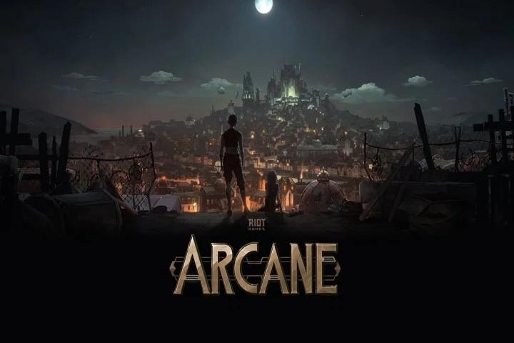 Arcane jogo novo da Riot lol
