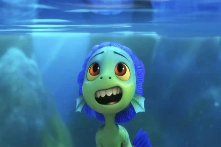 Luca o peixe do filme da Disney