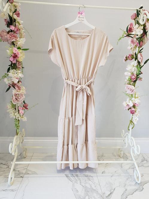 Olivia Nude Summer Dress