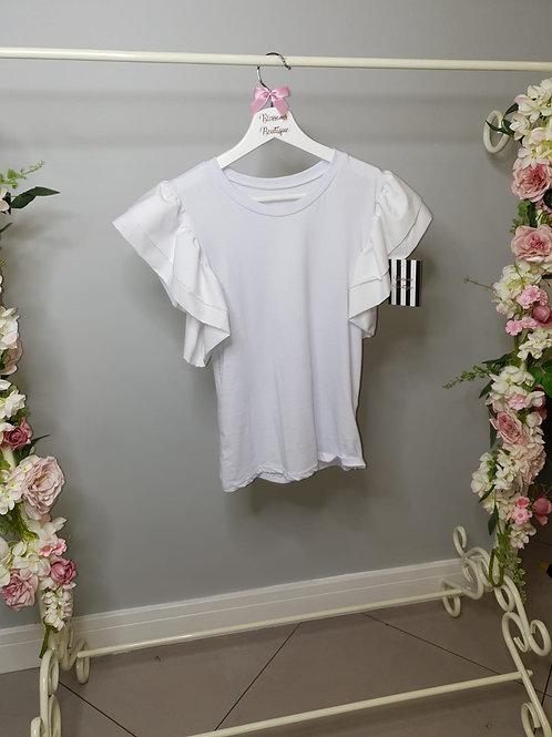 Margot Frill Sleeve T-Shirt