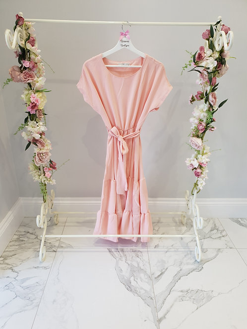 Olivia Blush Pink Summer Dress