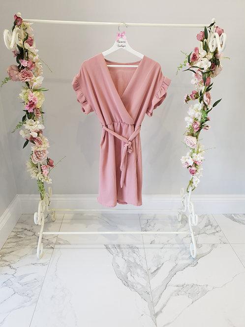 Heidi Frill Sleeve Dress