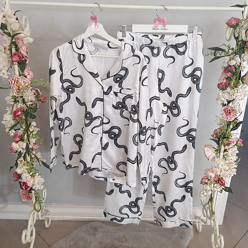 Medusa Premium Snake Print Pyjamas