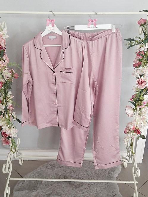 Lucy Premium Satin Mink Pyjamas