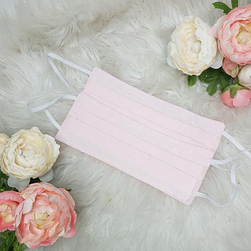 Plain Light Pink Face Mask