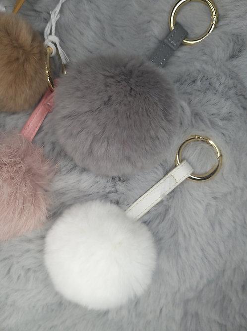Large Pom Bag/Key Chain