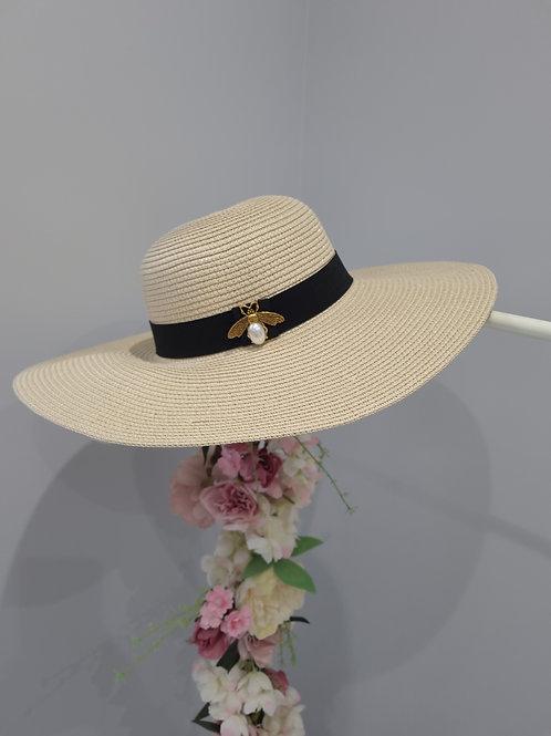 Bee Design Sun Hat - Nude