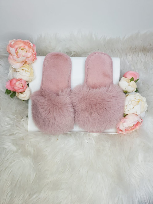 Mini Blossoms - Extra Fluffy Slippers