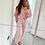 Thumbnail: Bec  Baby Pink Cropped Hooded Loungewear Set