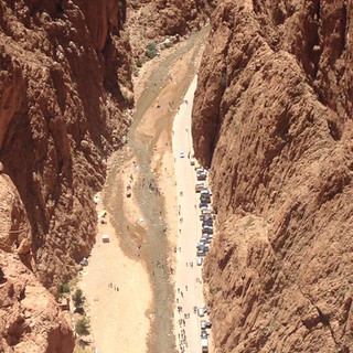 Aerial views of the Gorge
