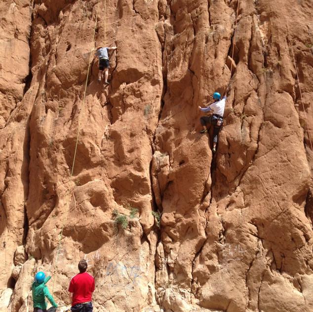 Climbing tuition