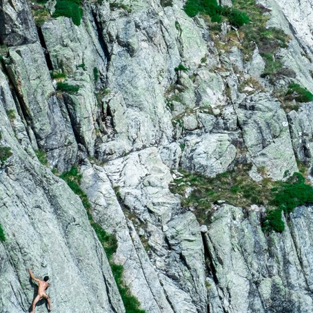 Max Bares All.... How Yoga benefits Climbers