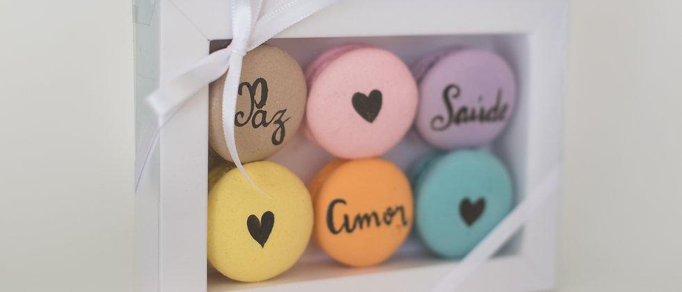 Caixa 6 macarons