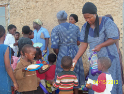 The orphan project feeding programme