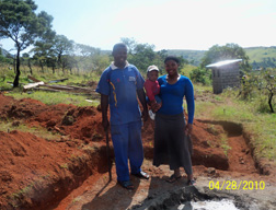 Senzo, our project manager, with his wife