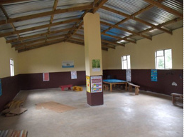Inside Mungo's pre-school